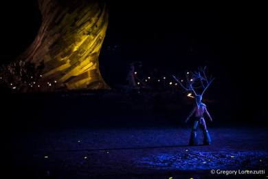Woodford Folk Festival Fire Event (2016) Image: Gregory Lorenzutti