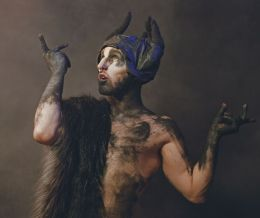 Cthonica: Bull (2018) Image: Matthew Doueal Headpiece: Caitlin Strongarm Make-up: Adam Anderson